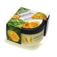 Скраб масляно-солевой 250мл Питательный (масло папайи, протеины шелка) для тела