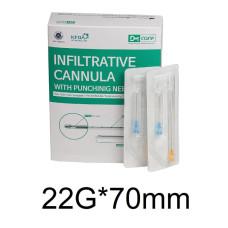 Канюля 22G*70mm DM Care