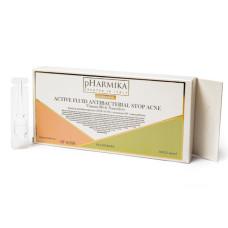 Сыворотка для лица 2,5мл Стоп Акне с витамином В3 и наносеребром pHarmika (ампулы)
