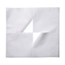 Салфетка для массажа с крестообразным разрезом из белого спанбонда 50шт в уп vitess