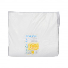 Полотенце нарезное гладкое 0,7х0,4 (50 шт уп) CleanComfort спанлейс пл 40г/м2