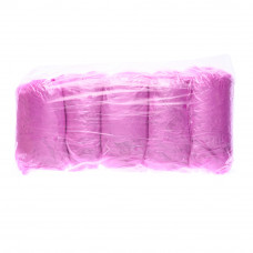Бахилы 100% полиэтилен, розовые 3,5гр (ср.плотность)  (50пар в уп) SanGig