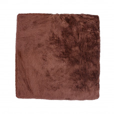 Плед махровый на кушетку, 1.4м х 1,8м черный шоколад vitess