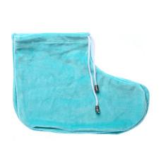 Носочки для парафинотерапии - мятные пара, (велюр) vitess