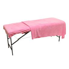 Плед махровый на кушетку, 1,4м х 1,8м розовый vitess