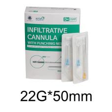 Канюля 22G*50mm DM Care
