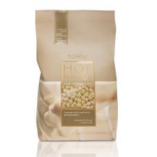 Воск горячий в гранулах ItalWax 1000 гр белый шоколад бразильский