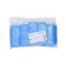 Бахилы 100% полиэтилен, синие 3,0 гр (ср.плотность) (50пар в уп) SanGig