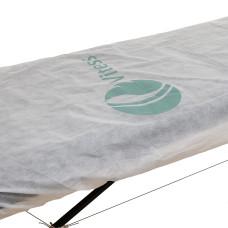 Чехол брендированный логотипом Vitess на кушетку (спанбонд 50) (белый) vitess