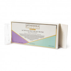 Сыворотка для лица 2,5мл гиалуронка, водоросли и керамиды pHarmika (ампулы)