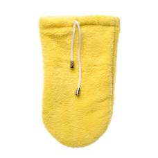Варежки для парафинотерапии пара, (махра 2х сторонняя) желтые vitess