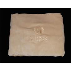 Чехол на кушетку (велюр) бежевый vitess-logo