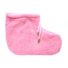 Носочки для парафинотерапии пара, (махра 2х сторонняя) розовые vitess