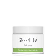 Сливки для тела 300мл Зеленый чай (для спа ухода за кожей) Elenis