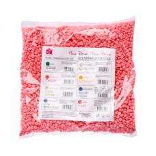 Воск горячий в гранулах Белла Донна 1000 гр розовый