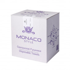 Полотенце нарезное гладкое 0,7х0,4 (100 шт уп) Monaco спанлейс пл 50г/м2