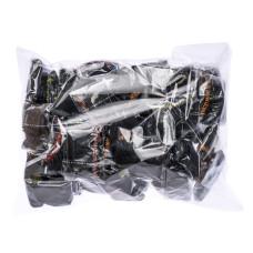 Трусики (стринги) женские одноразовые M-L (уп 500+5) vitess MaxiPack (черные)