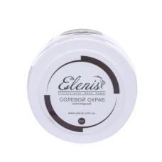 Скраб для тела 350гр солевой Шоколадный Elenis