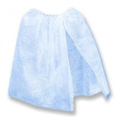 Пеньюар на резинке Голубой одноразовый (спанбонд) OneSize vitess