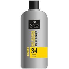 Жидкость 3 в 1(обезжириватель,снятие липкого слоя,очистка кистей) NYD 500мл Professional