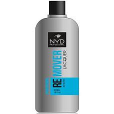 Жидкость для снятия лака без ацетона  NYD 500 мл Professional Lacquer Remover (без помпы)