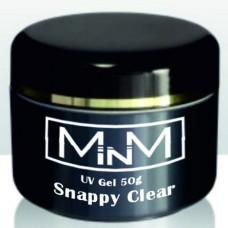 Гель моделирующий однофазный прозрачный M-in-M Snappy Clear, 50 g