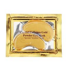 Патчи для глаз 2 шт коллагеновые золотые Collagen Crystal Eye Mask Bioaqua