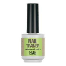 Уход за ногтями NUB  Средство для упрочнения ногтей NAIL TRAINER 15мл