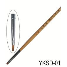 Кисть YKSD-01 Nail Art Brush Yre-шт
