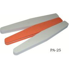 Пилка ромб (белая, оранжевая)