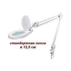 Лампа-лупа 8066 22 Вт 3D с креплением к столу