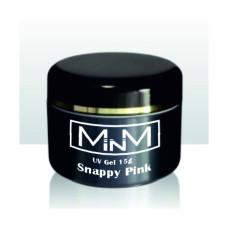 Гель моделирующий однофазный розовый M-in-M Snappy Pink, 15 g