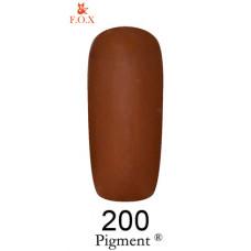 Гель-лак F.O.X. gel-polish gold Pigment 6ml №200