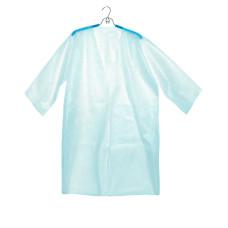 Халат-кимоно с рукавом Голубой (спанбонд) для косметологических салонов vitess