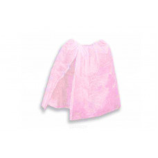 Пеньюар на резинке Розовый одноразовый (спанбонд) OneSize vitess