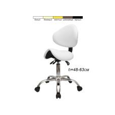 Стул-седло для мастера модель 854 (3 регулировки)