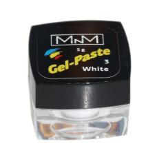 Гель-паста №3  White, 5 г