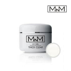 Гель моделирующий прозрачный плотный M-in-M Gel Thick Clear, 30 г