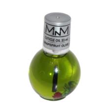 Масло для кутикулы 33мл с кисточкой Грейпфрут M-in-M