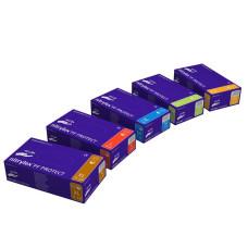 Перчатки нитрил Nitrilex Basic 7-8 M фиолет 100 шт уп