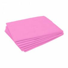 Простынь нарезная спанбонд пл.23 розовая 2,0*0,8м (20шт/уп) vitess