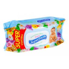 Салфетки влажные Super Fresh №120 для детей и мам