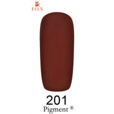 Гель-лак F.O.X. gel-polish gold Pigment 6ml №201
