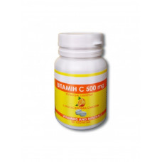 Витамин С жевательный 500мг №30 Green Pharm