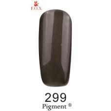 Гель-лак F.O.X. gel-polish gold Pigment 6ml №299