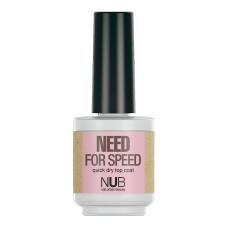 Уход за ногтями NUB  Быстросохнущий закрепитель для лака NEED FOR SPEED 15мл