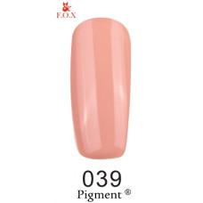 Гель-лак F.O.X. gel-polish gold Pigment 6ml №039