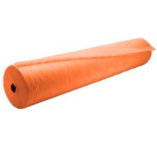 Простынь в рулоне  0,60м Х100м спанбонд (пл.20) K.TEX Оранжевая