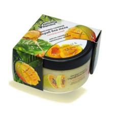 Скраб для тела 250мл масляно-солевой Питательный (масло папайи, протеины шелка) Альянс