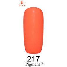 Гель-лак F.O.X. gel-polish gold Pigment 6ml №217